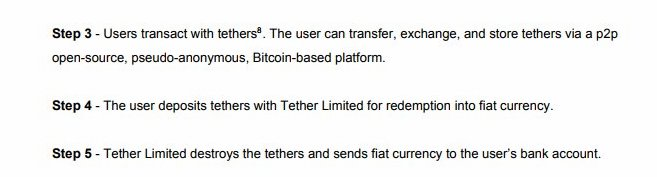 tether white paper quote
