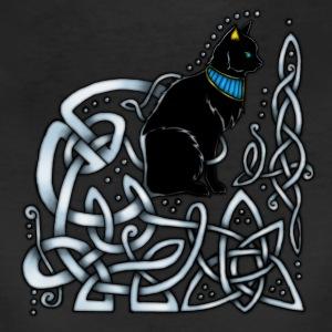 celtic knotwork egyptian cat